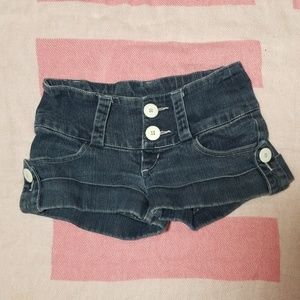 SUPER COMFORTABLE STRETCH JEAN SHORTS